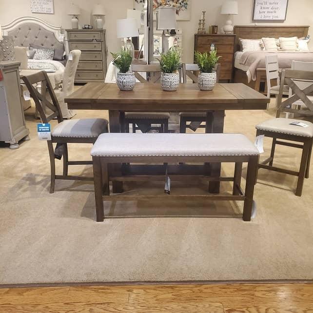 Dining Set - Dining Room Furniture - Furniture of Dalton - In Stock Furniture