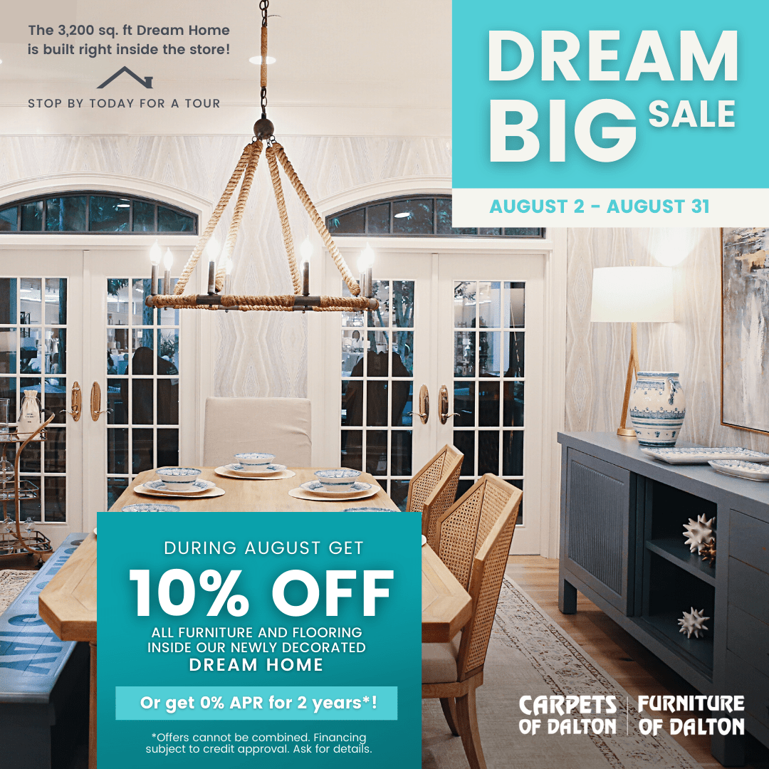 August Dream Big Sale